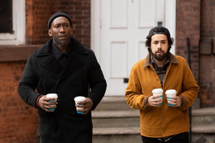 "Sheikh Ali Malik (Mahershala Ali) and Ramy (Ramy Youssef) in a scene from Season 2 of ""Ramy."""