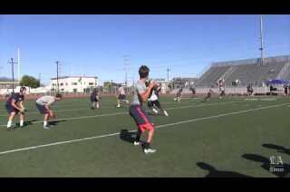 Passing competition at Burroughs