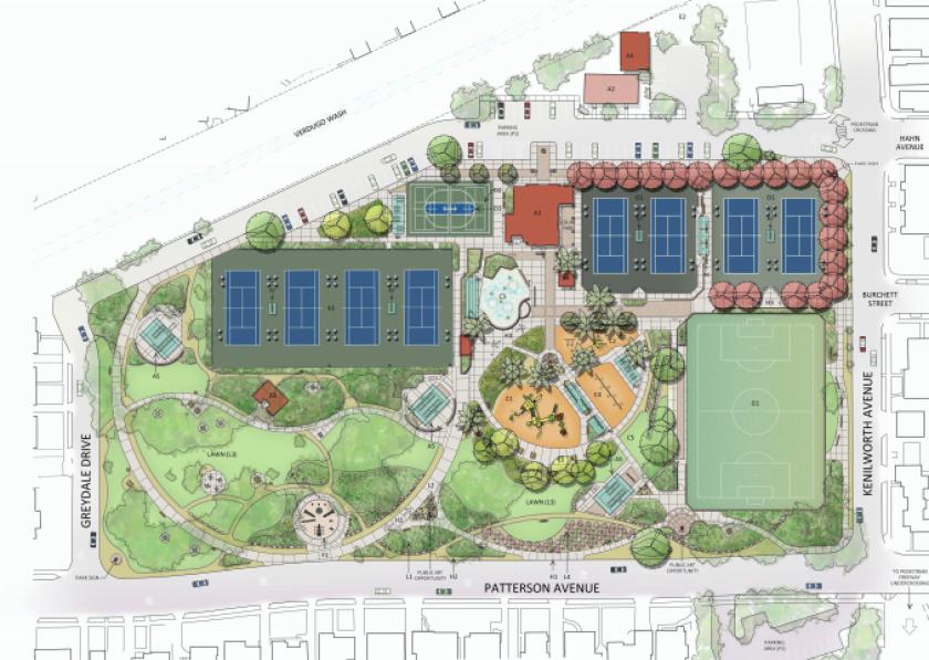 Glendale Fremont Park renovation plan