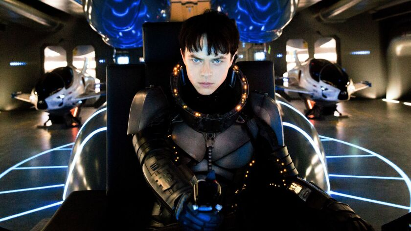 """Shown is a scene from """"Valerian and the City of a Thousand Planets,"""" one of the biggest flops of 2017."""