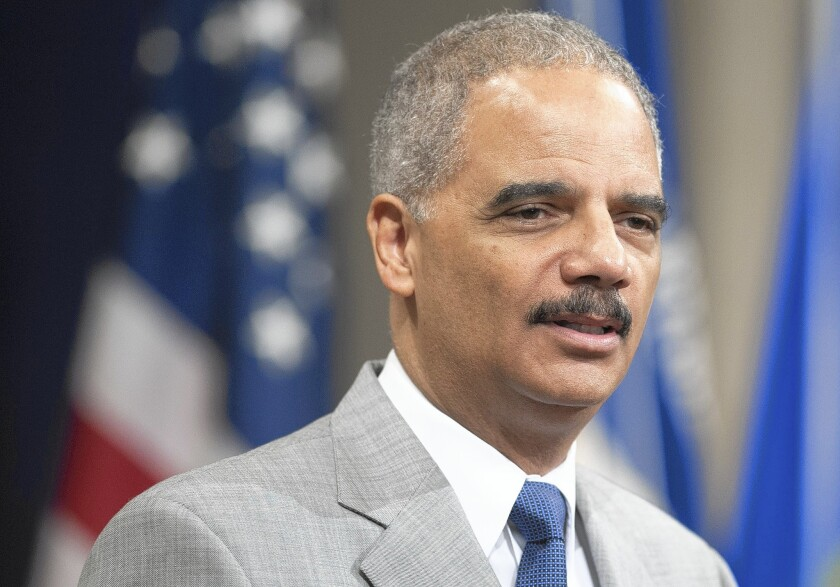 The Missouri police slaying of Michael Brown has presented Atty. Gen. Eric H. Holder Jr. with what could be the biggest challenge yet to his legacy as the nation's top civil rights advocate.