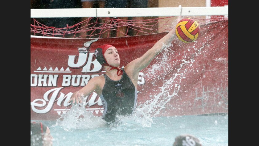 Photo Gallery: Crescenta Valley vs. Burroughs Pacific League girls' water polo