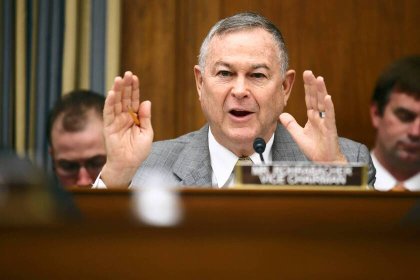 Rep. Dana Rohrabacher (R-Huntington Beach) wants to block federal officials from interfering with medical marijuana use in states that allow it. He says it's a waste of money and encroaches on states' rights.