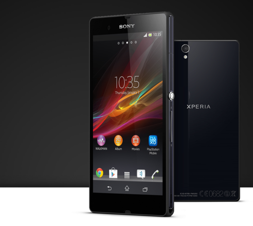 The Sony Xperia Z smartphone will be available in the U.S. exclusively through T-Mobile.