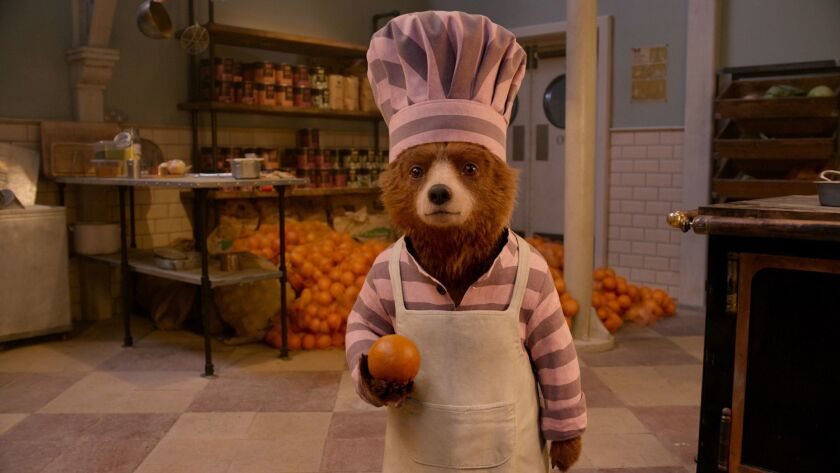 "Paddington voiced by BEN WHISHAW in the family adventure ""PADDINGTON 2,"" from Warner Bros. Pictures"