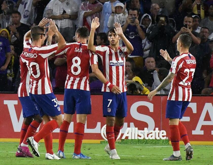 El Atlético de Madrid rompe corazones a su llegada a México