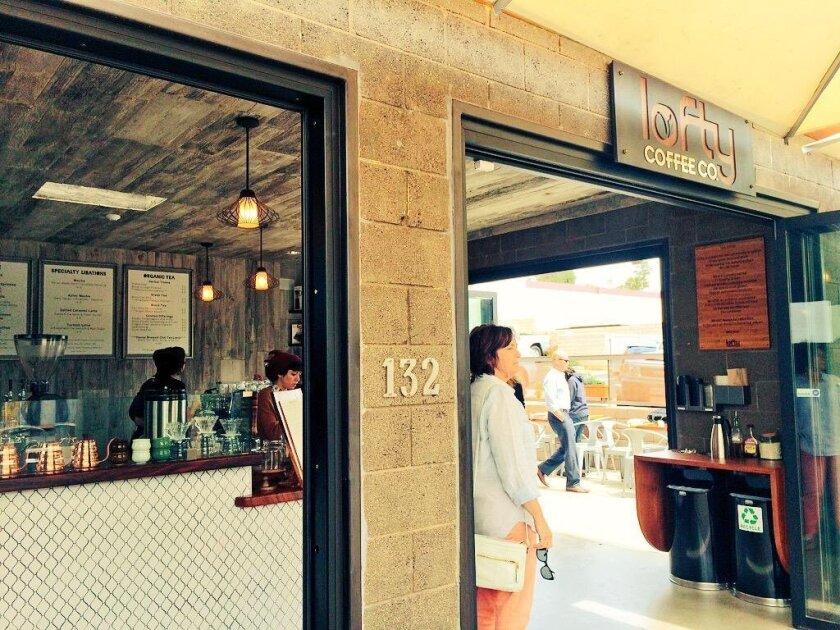 Lofty Coffee of Encinitas has opened a branch in Solana Beach.