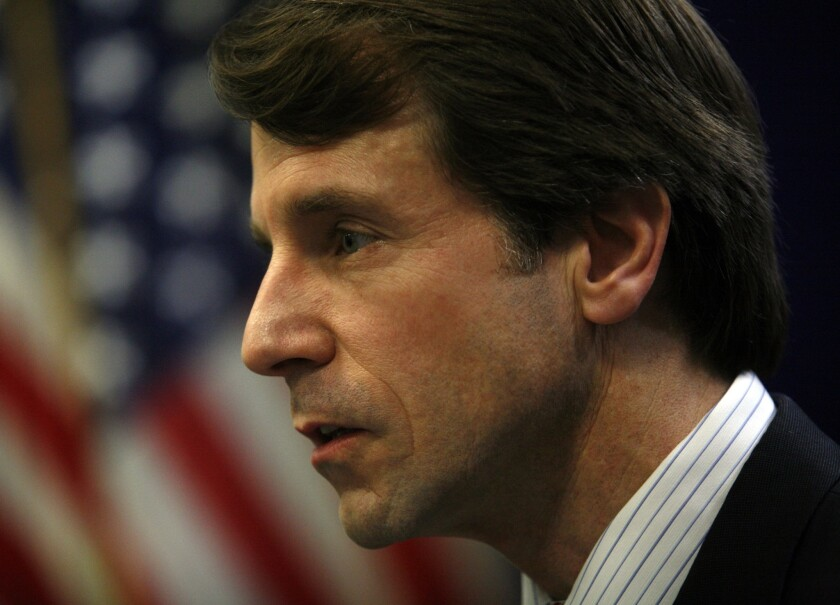 California Insurance Commissioner Dave Jones, shown in 2011, is scheduled to make a formal announcement Tuesday on Anthem Blue Cross' extension of a handful of its canceled health insurance policies.