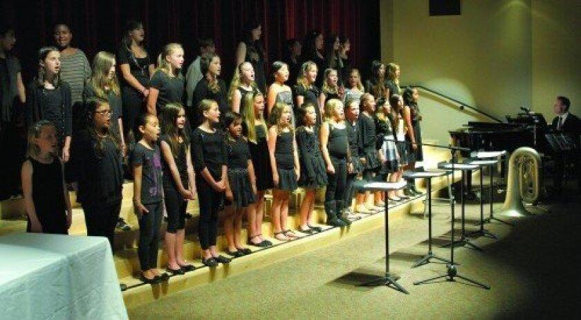 The student choir