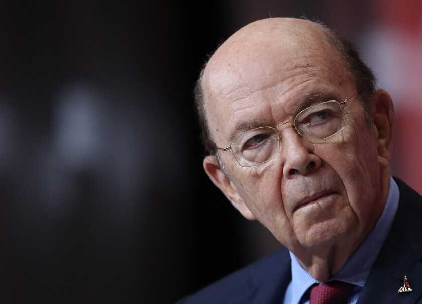 U.S. Secretary of Commerce Wilbur Ross speaks at the SelectUSA 2018 Investment Summit June 22, 2018 in National Harbor, Maryland.