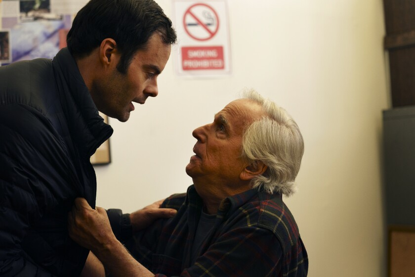 "Bill Hader and Henry Winkler in ""Barry."""