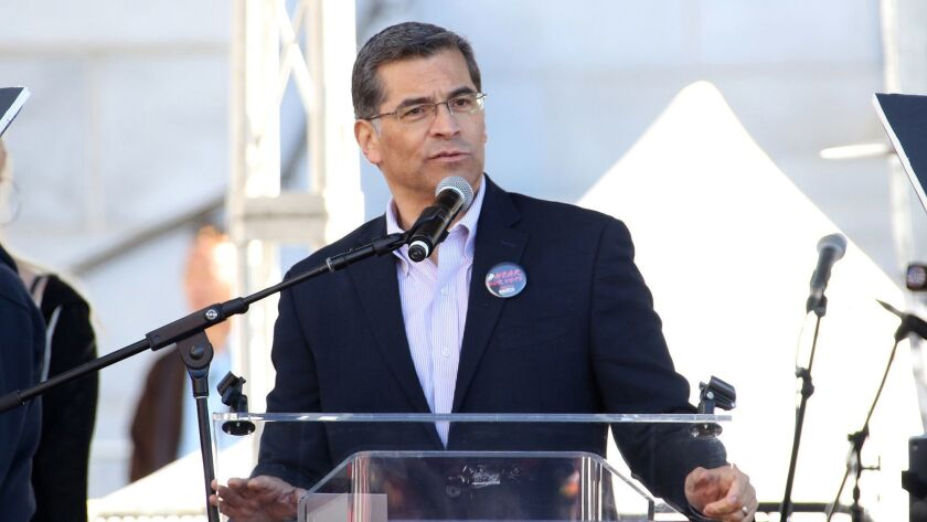 For California Attorney General Xavier Becerra, Resistance Is Personal