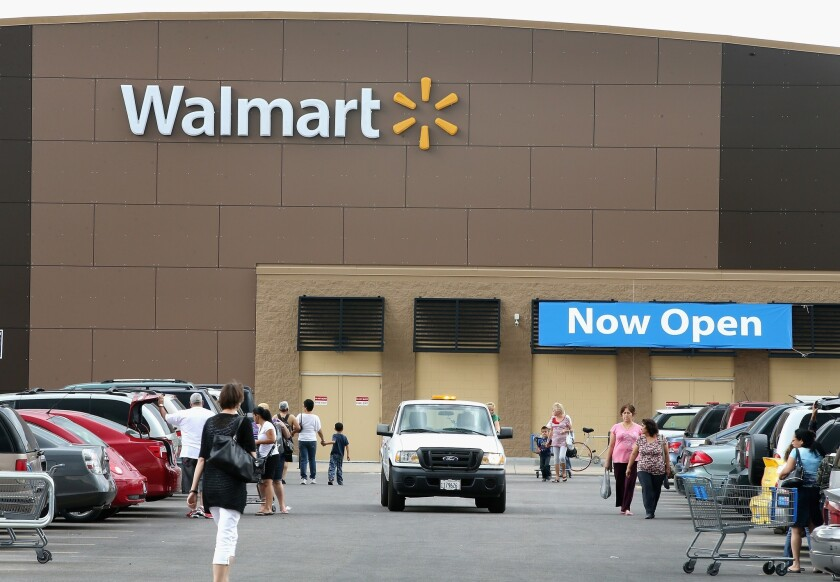 Wal-Mart is pledging to cut down or eliminate 10 chemicals found in household and beauty products currently on its shelves.