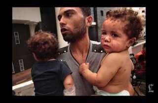 L.A. Times photographer describes scene in Gaza City