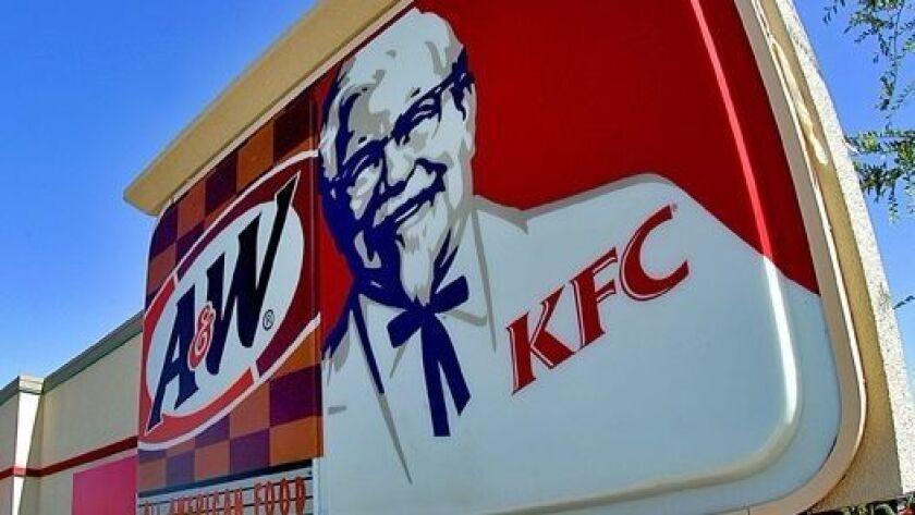 KFC Promotional WINDOW Sticker Kentucky Fried Chicken