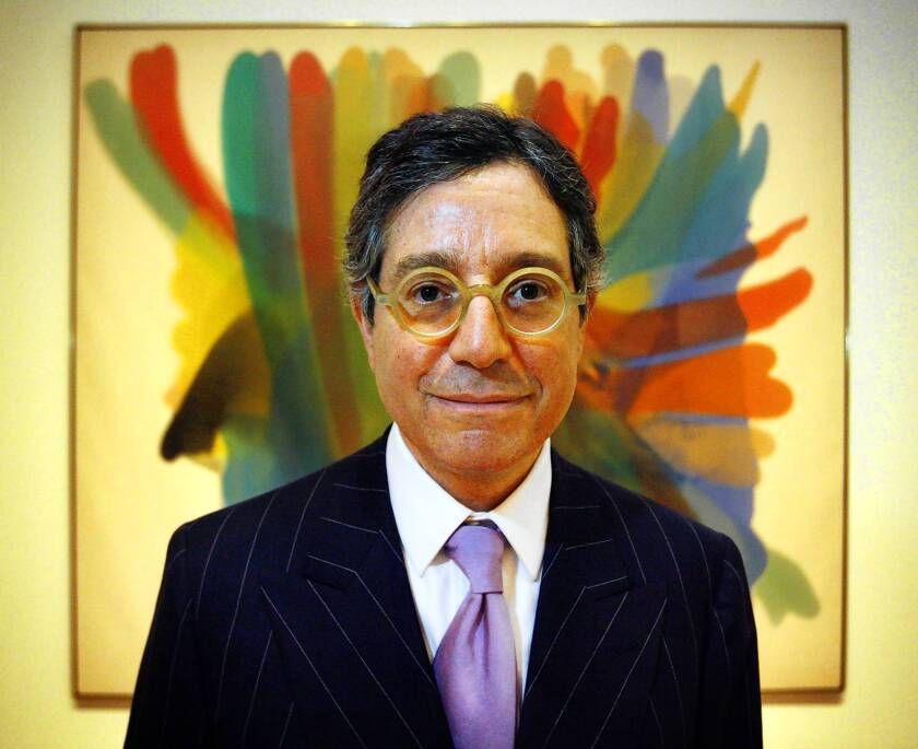 Jeffrey Deitch's background as a gallery owner brought early criticism of his selection three years ago.