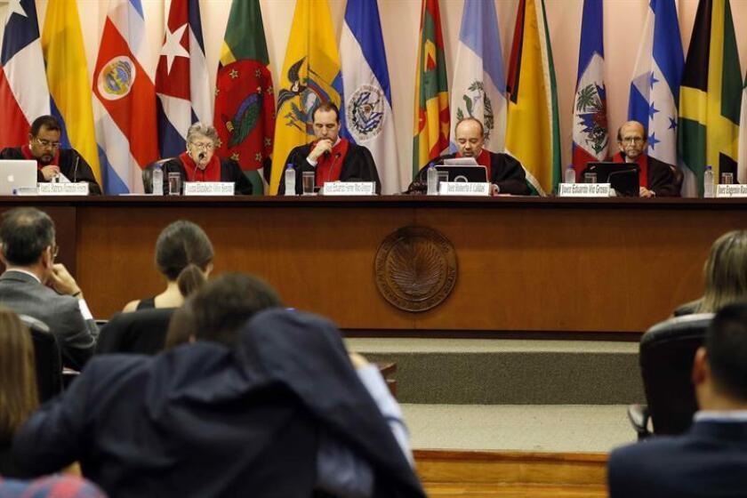 Según la demanda presentada por la Comisión Interamericana de Derechos Humanos (CIDH), este es el primer caso por desaparición forzada en el contexto de la lucha contra el narcotráfico y la delincuencia organizada en México. EFE/Archivo