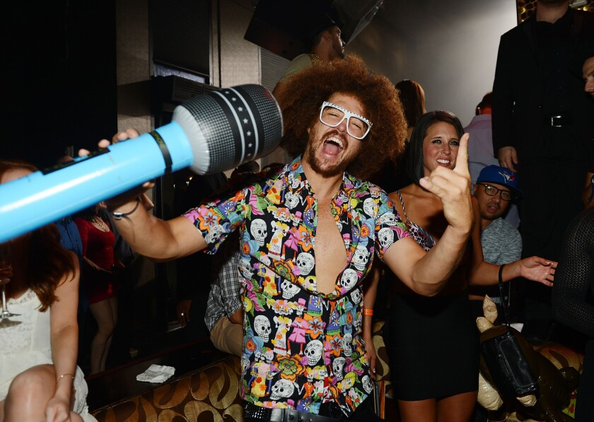 Redfoo helps Tao celebrate its 10th anniversary in Las Vegas.