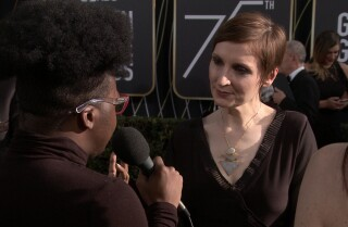 Director Nora Twomey on wearing black at the Golden Globes