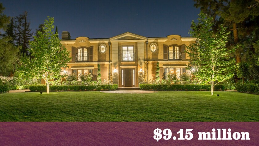 At $9.15 million, this newly built estate in San Marino was the most expensive home sold in the greater Los Angeles area last week.