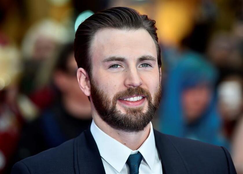 """El actor estadounidense Chris Evans asiste al estreno europeo de """"Captain America: Civil War"""". EFE/Archivo"""