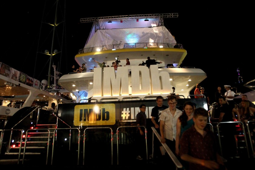 The IMDb Yacht Party, is an invite-only event during Comic-Con. (Rich Polk/Getty Images for IMDb)