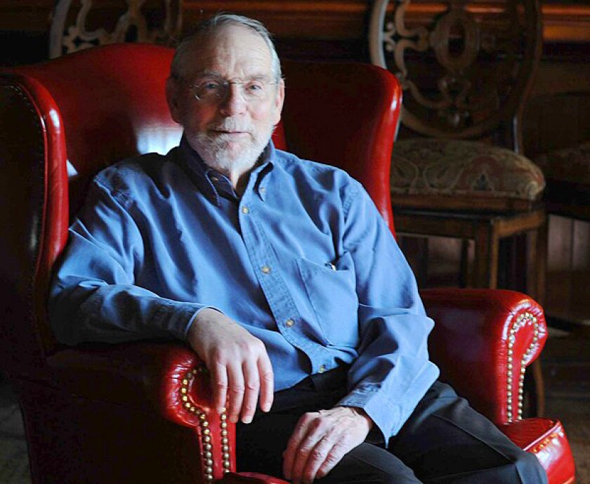 """Writer John McPhee, who turns 79 in March, has a new collection of essays out, titled """"Silk Parachute."""""""