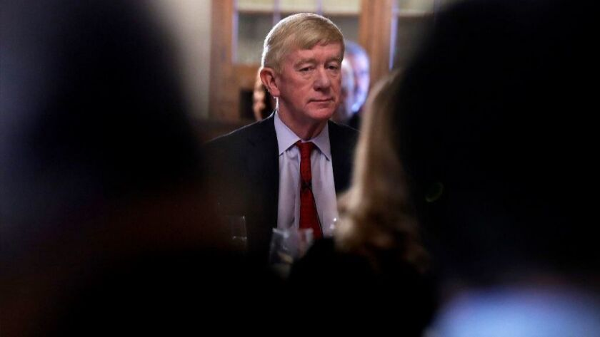 Former Massachusetts Gov. William Weld plans to challenge Donald Trump for the Republican presidential nomination.