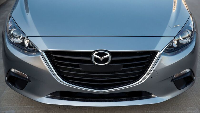 The Mazda 3 series from 2014-16 are among those vehicles being recalled.