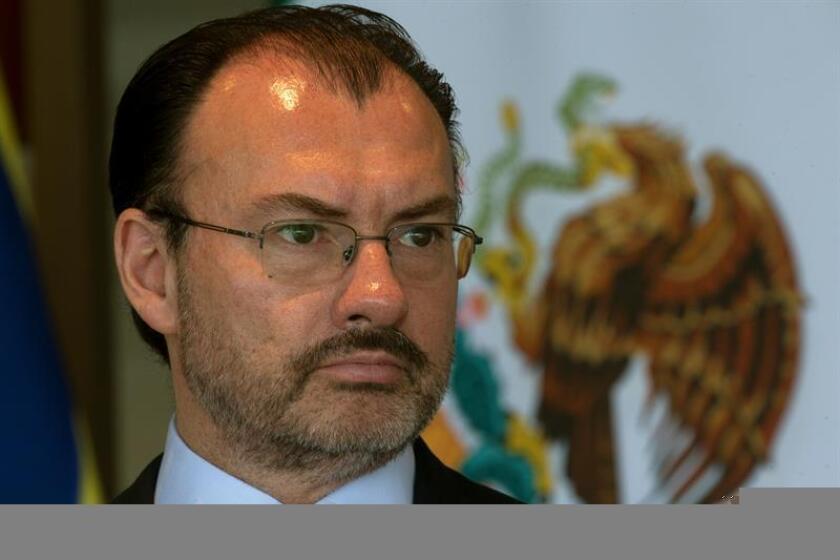 El ministro de Relaciones Exteriores de México, Luis Videgaray. EFE/Archivo