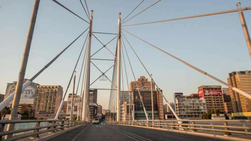 You can fly to Johannesburg, South Africa, for $850 on Virgin Atlantic and see the Nelson Mandela Bridge in person.