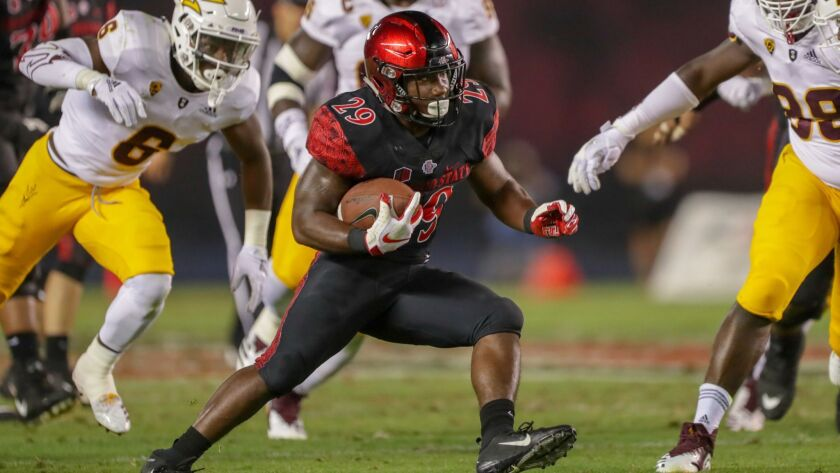 San Diego State running back Juwan Washington plans to play for the first time since being injured Sept. 22 against Eastern Michigan.