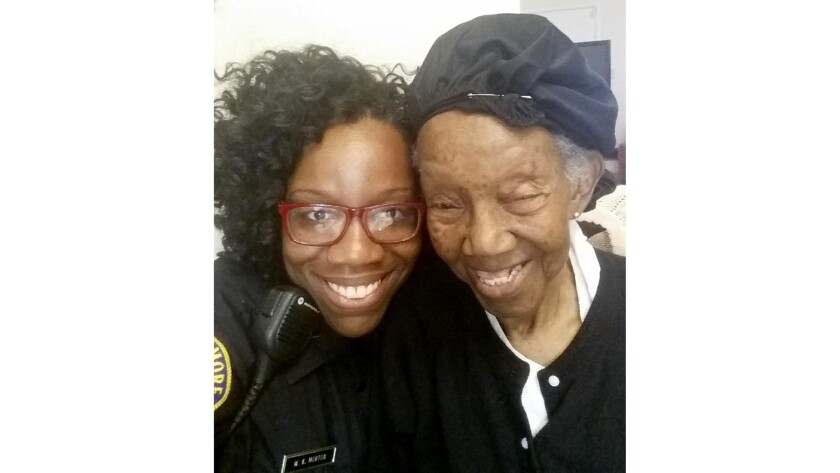 A 911 call led Baltimore police Detective Wendy Morton to develop a friendship with 98-year-old Haze