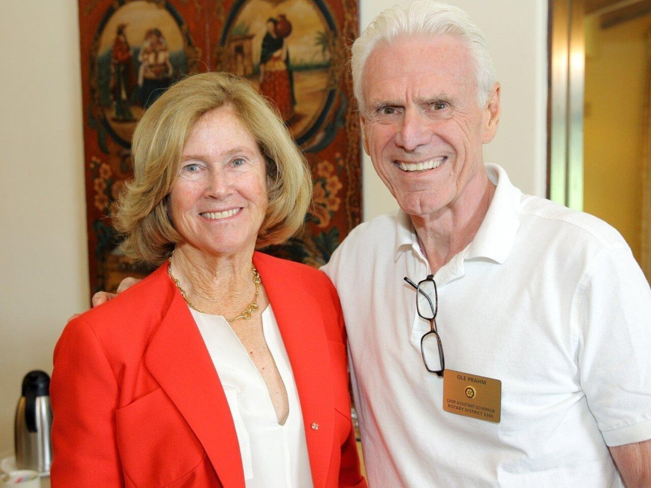 RSF Rotary Club guest speaker