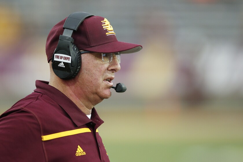 John Bonamego,  a former head coach for Central Michigan, has been hired by the Rams to be their special teams coach.