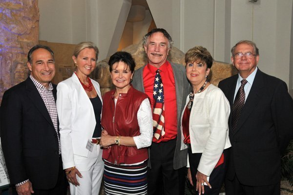 Dr. Reid Abrams and Micki Olin, Arlene and Richard Esgate (Patron Party and Masterpiece Gala chairs), Judy and Aubrey Burer