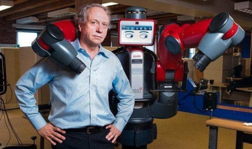 Rodney Brooks developed the industrial robot Baxter.