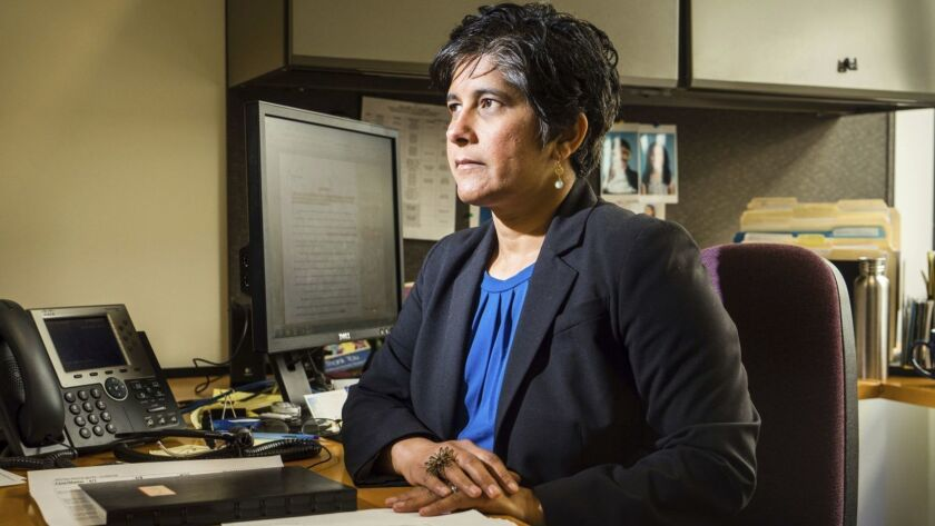 "Many of the cases that workers are bringing challenge ""conditions that are akin to modern-day slavery,"" said Hina Shah, an associate law professor at Golden Gate University who directs the Women's Employment Rights Clinic,"