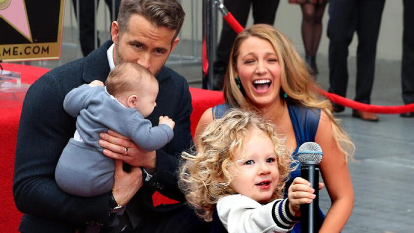 Ryan Reynolds and Blake Lively's children