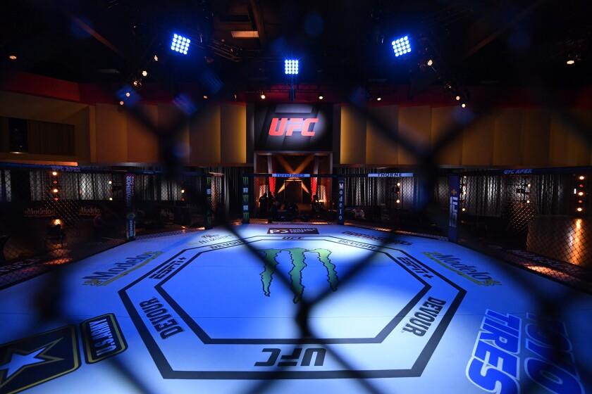Velada de UFC 250 en Las Vegas.