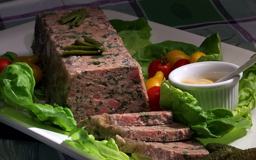 Turkey terrine