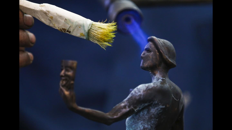 SAG statuette casting