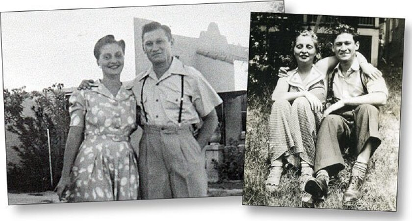 Sam and Blanche Weiss (left) moved to San Diego's Linda Vista neighborhood from New York City in 1936. (Courtesy of Weiss family)