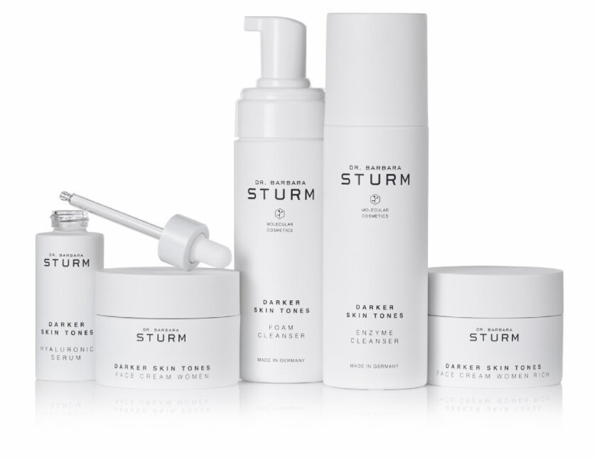 Dr. Barbara Sturm Darker Skin Tones luxury skin care line was created in collaboration with actress Angela Bassett.