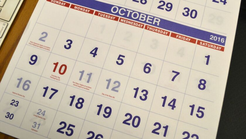 Our Town Calendar of Events