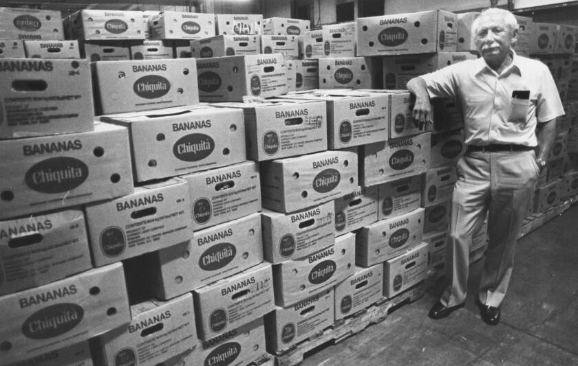 Robert Alvarez in one of his warehouses.