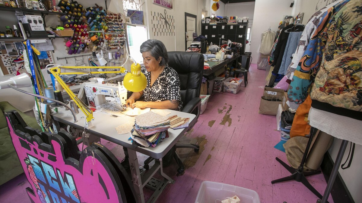 Sewing Peace Of Mind The San Diego Union Tribune