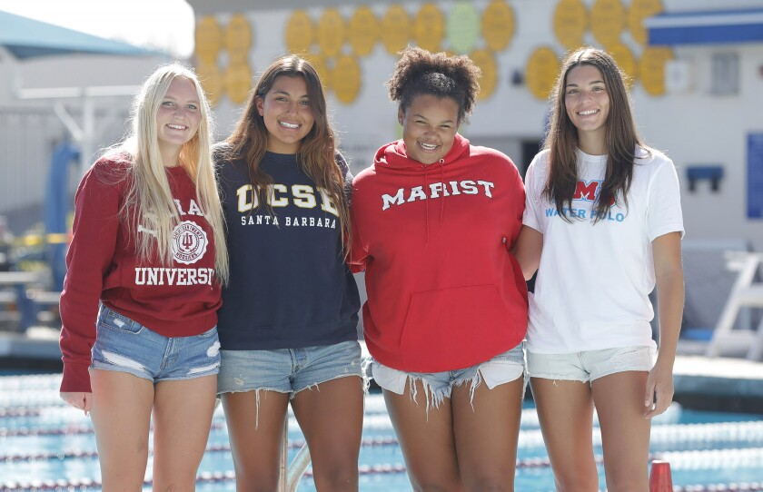 Four Laguna Beach High girls' water polo signees have recently committed to college programs.