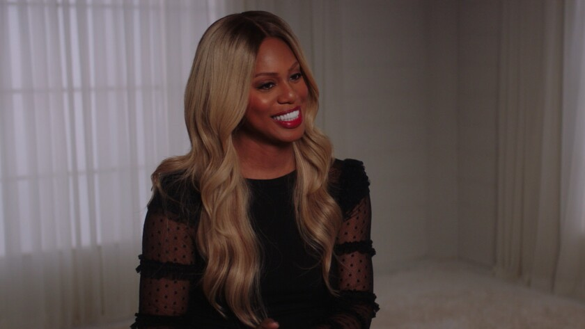 Laverne Cox in the documentary 'Disclosure.'