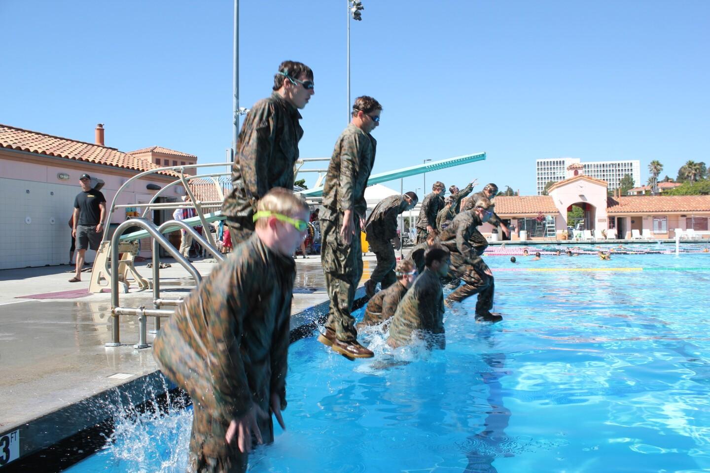Navy training LJHS